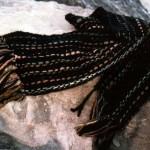 Wool scarf 30x150cm
