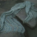 Silk&Linen stole.58x180cm